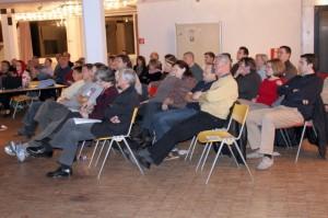 Publikum beim Vortrag von Prof. Heussner