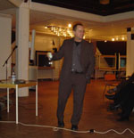 Prof. Löhr im Kulturhaus Wiesloch