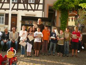 Lesung aus dem Baiertal-Roman