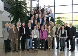 Die Bürgerstiftungsvertreter beim Regionalforum 2011