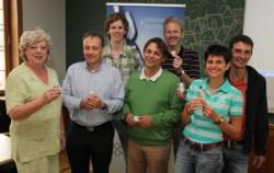 Mitglieder des Projekts bei der Präsentation (H.Pfeifer)
