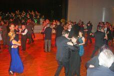 Große Tanzfläche bot viel Platz